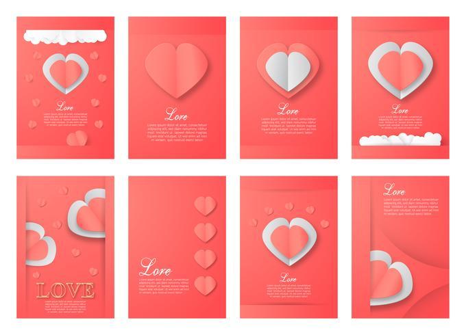 Flyer zum Valentinstag.