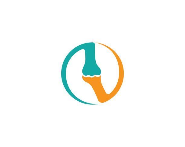 Bone logo vector plantilla vector