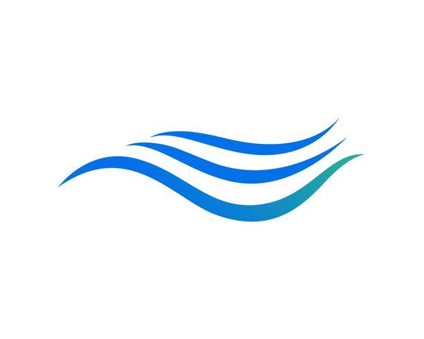 Watergolf pictogram vector