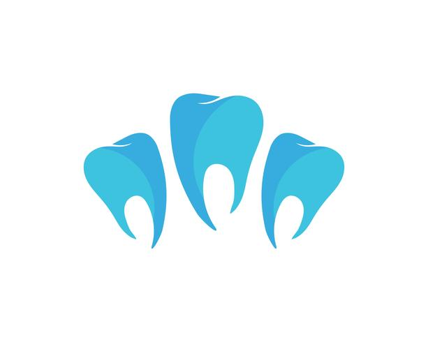Logo dental modelo ilustração vetorial