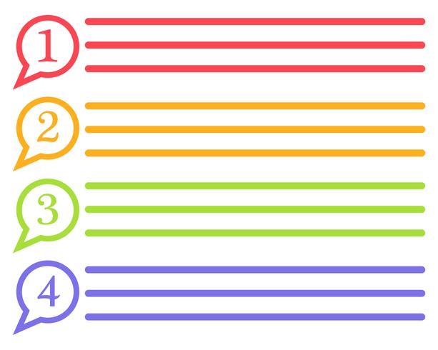 Discurso burbuja icono Logo plantilla vector ilustraciones