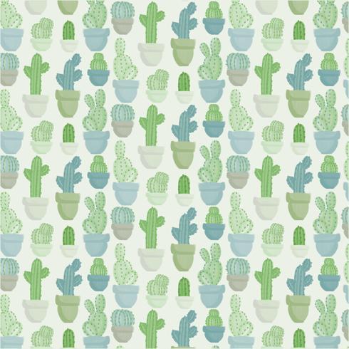 Reticolo senza giunte del cactus di vettore