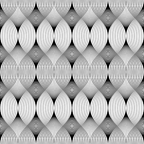 Abstracte geometrische lijnen naadloze patroon achtergrond.