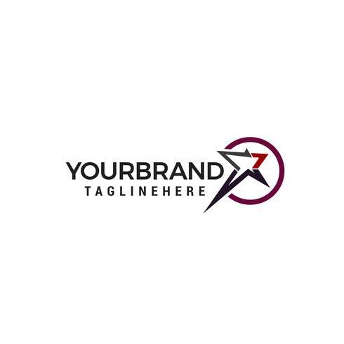 ster logo ontwerp concept sjabloon vector