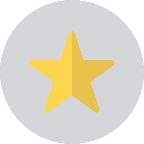 Vector ster pictogram