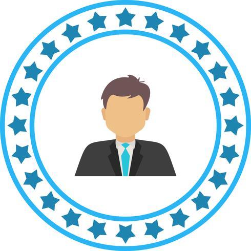 Vector Empresário ícone