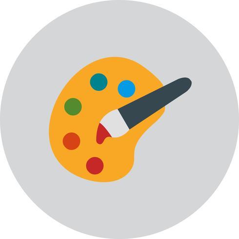 Paleta de cores do vetor ícone