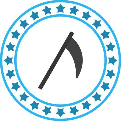 Icona di falce vettoriale