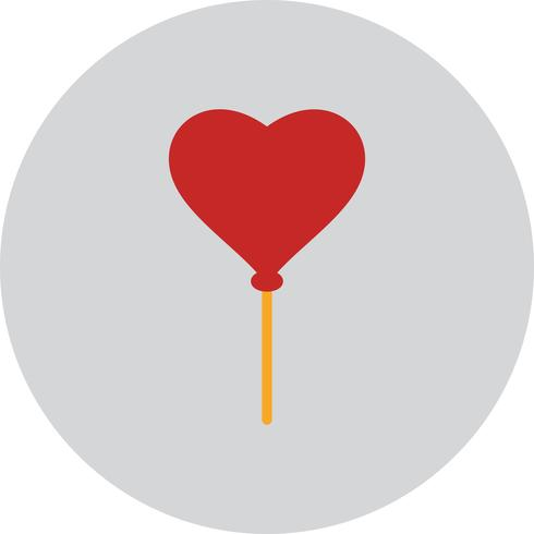 Vector Heart Ballon pictogram