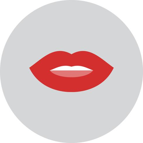 Vector lippen pictogram