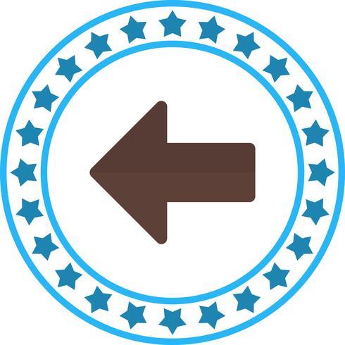 Vector Left Arrow Icon