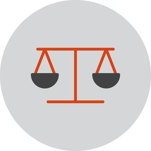Ícone de equilíbrio de vetor