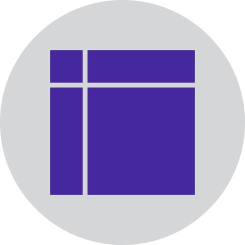 Vector geometrische vorm pictogram