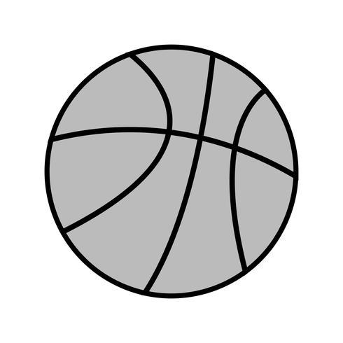 Vector ícone de basquete