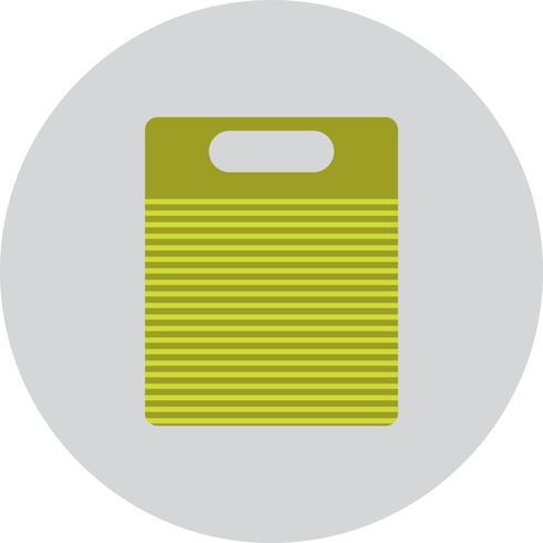 Ícone de placa de corte de vetor