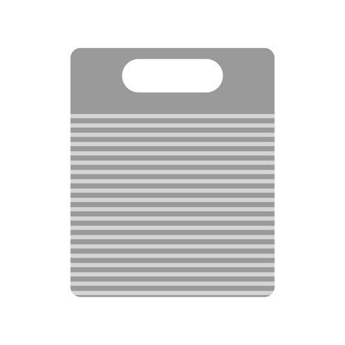 Icona del tagliere di vettore