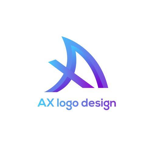 AX logo design