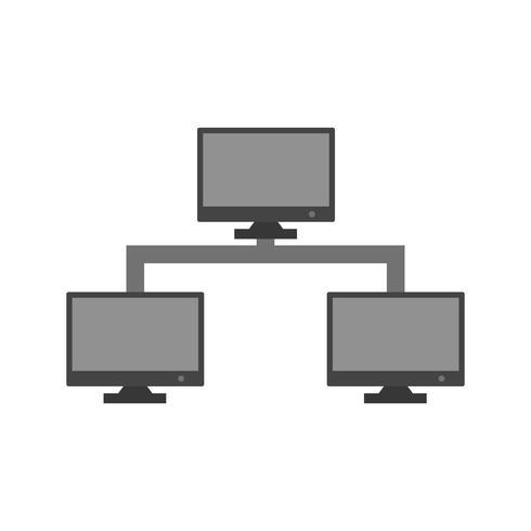 Vector icono de servidor de Internet