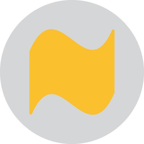 Vector icono de forma geométrica