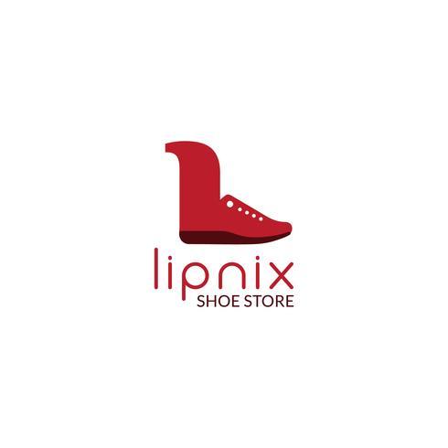 disegno del logo della scarpa
