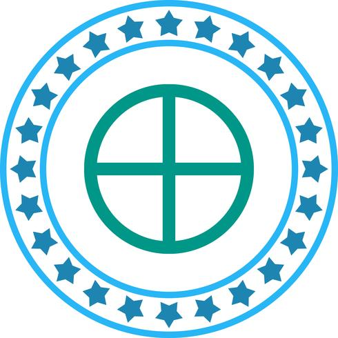Vektor geometrisk form ikon