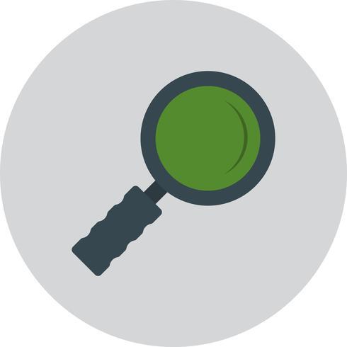 Ícone de vidro de pesquisa de vetor