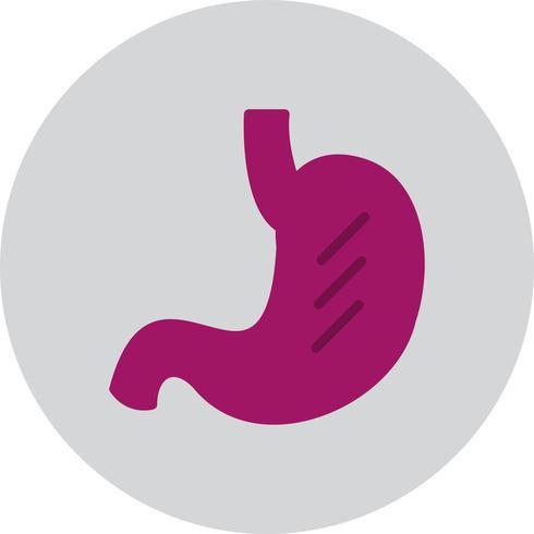 Vector icono de estómago