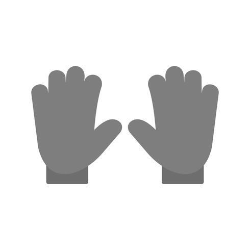 Vector Gloves Icon
