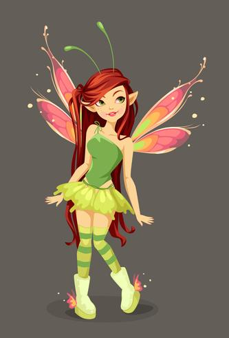 Butterfly Fairy staat