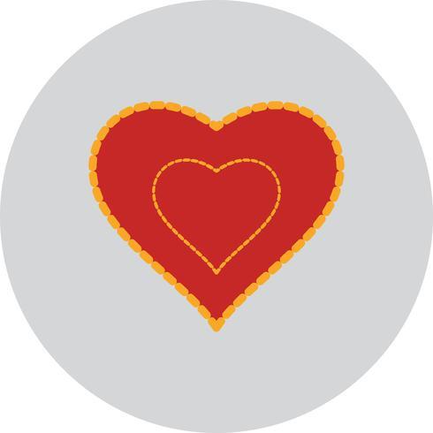 Vector coração amor ícone