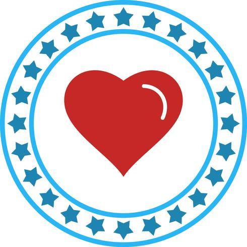 Vector coração ícone