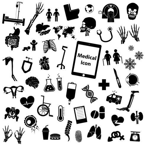 Set medical icon