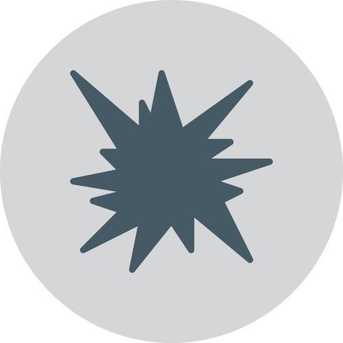 Ícone de explosão de vetor