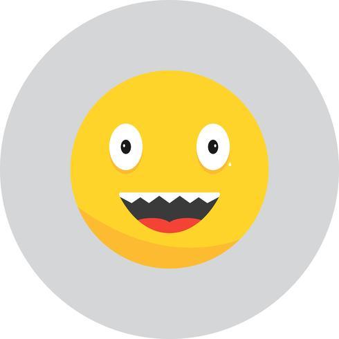 Vector riso Emoji ícone