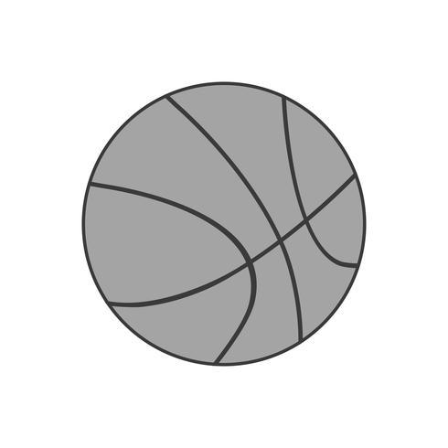 Vector icono de baloncesto