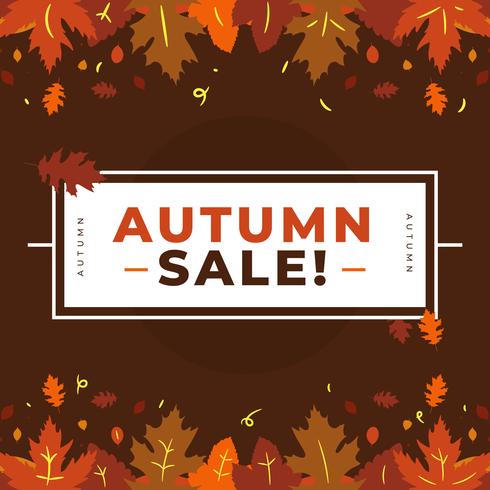 Herbst Sale Vektor