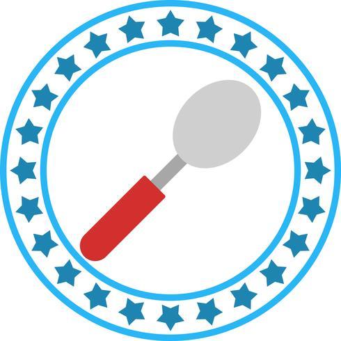 Vector icono de cuchara