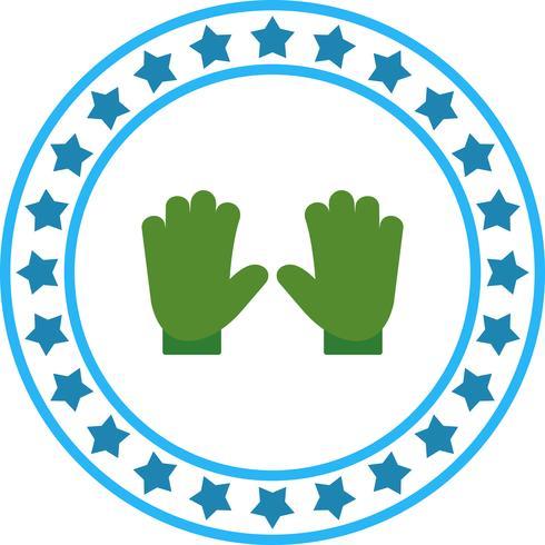 Vector icono de guantes