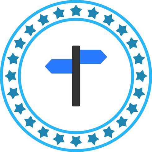 Vector icono de dirección