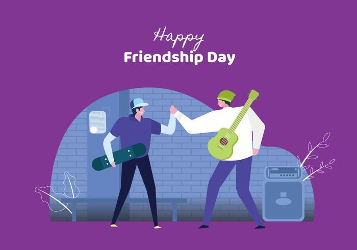 Los jóvenes celebran el día de la amistad