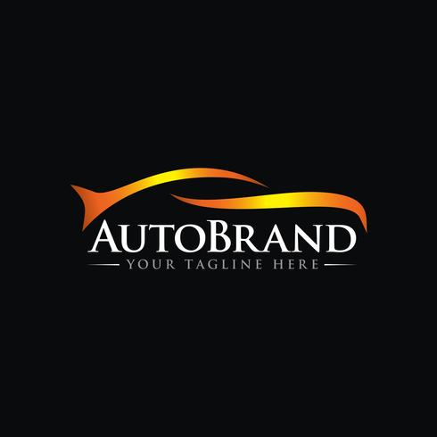 luxury Car Automotive Vector Logo Template