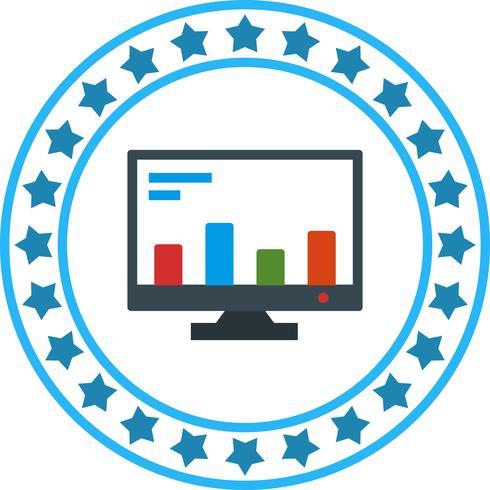 vektor online marknadsföring ikon