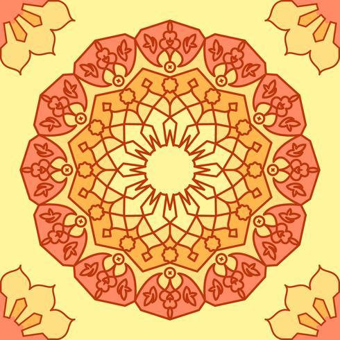 Cute Ramadhan Elements vector