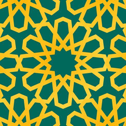 Flat Ramadhan Elements vector