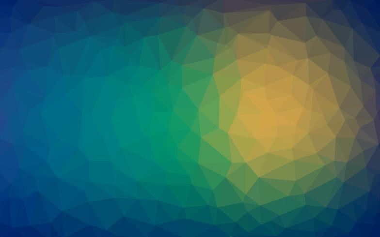 Abstract background of triangles warm texture vector