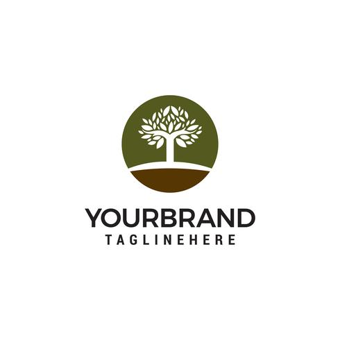 Tree Logo Design Template vector