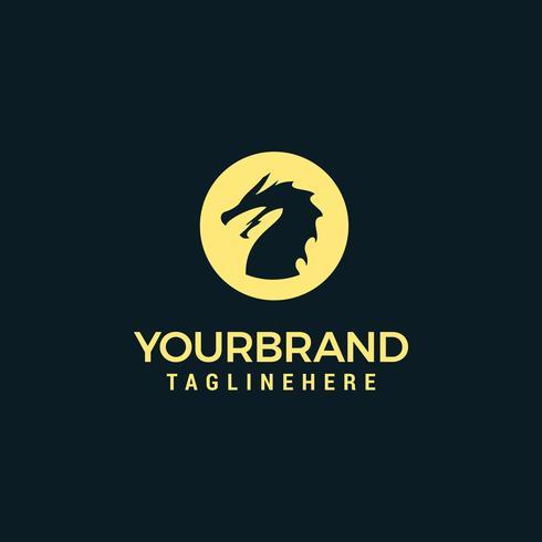 Dragon Logo sjabloon vector