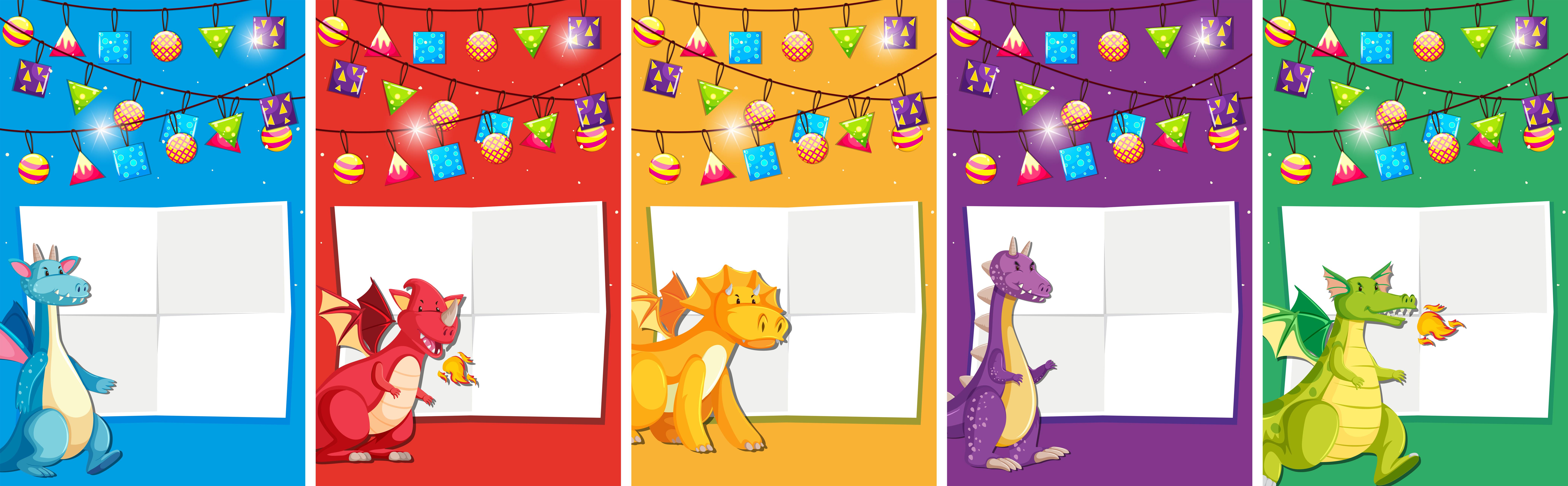 Conjunto De Invitación De Cumpleaños De Dinosaurio Descargar Vectores Gratis Illustrator Graficos Plantillas Diseño