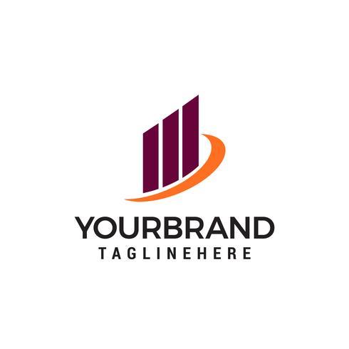 Creative Building Concept Logo Design Template vector