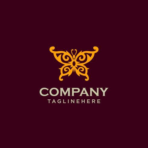 Farfalla Logo Design Template
